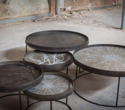 20329 Round tray coffee table set & 20726 Round tray coffee table set &-min